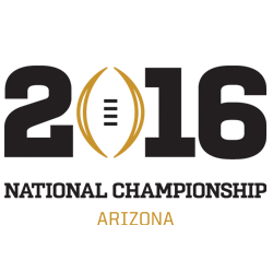 2016 College Football Playoff National Championship Game